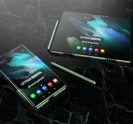 SAmsung dépose une brevet pour une tablette avec une écran pliable en trois