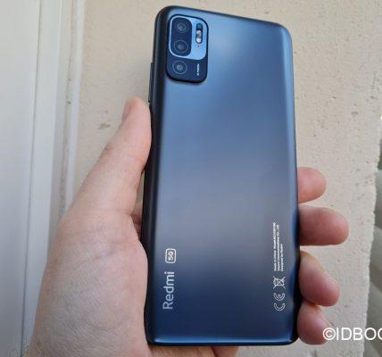Xiaomi Redmi Note 10 5G Test - Un smartphone 5G pour 229€