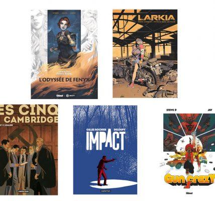 5 BD à lire cet été