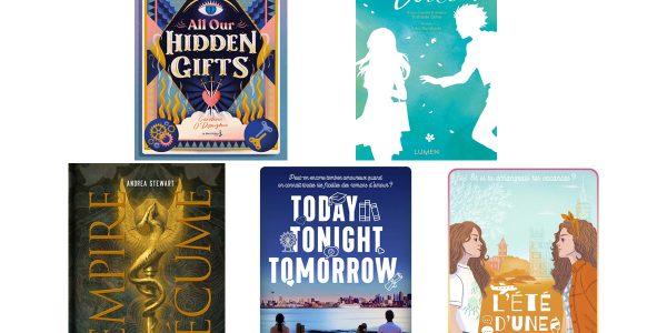 5 romans Young Adult à lire cet été