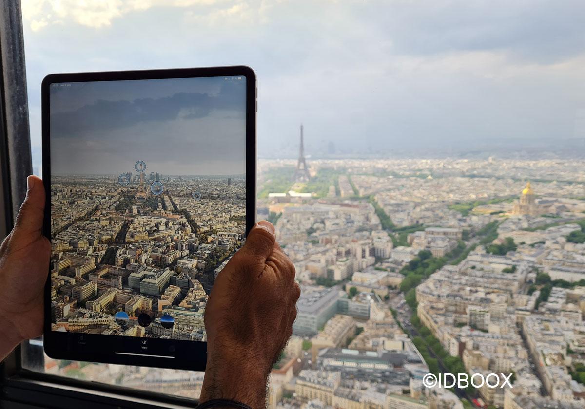 Tour Montparnasse - Une appli pour voir Paris en réalité augmentée