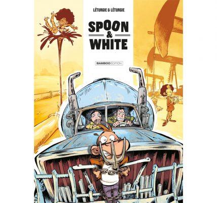BD Spoon & White Road N'Trip - Une BD pleine de références au cinéma US