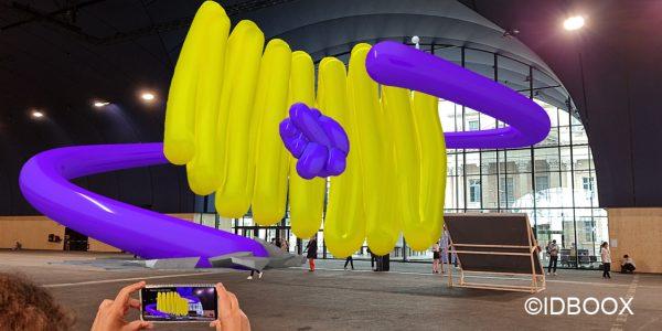 Expo Grand Palais Ephémère - Réalité augmentée