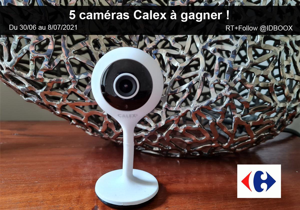 Jeu caméra Calex Carrefour