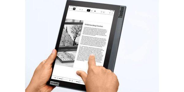 Lenovo ThinkBook Plus 2 Un PC avec un écran e-ink