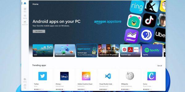 Windows 11 compatible avec les applis Android
