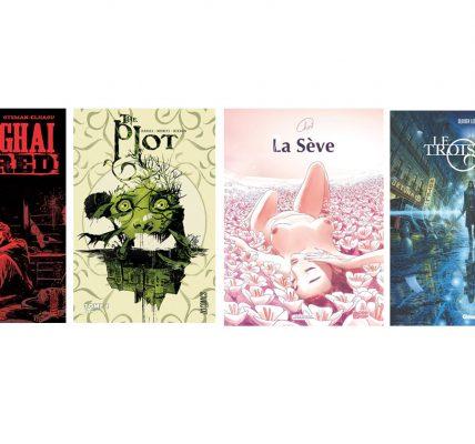 Conseil de lecture 4 BD pour tous les goûts