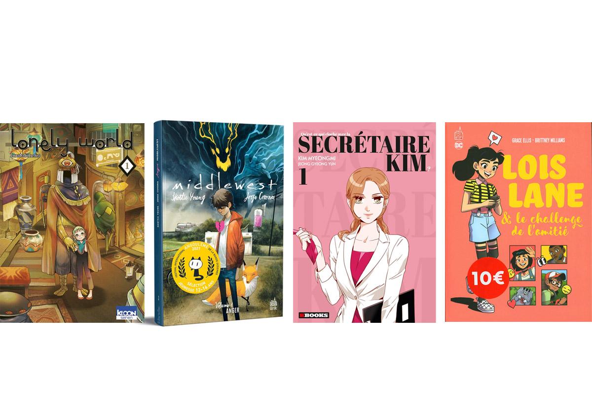 4 livres pour ado à lire cet été