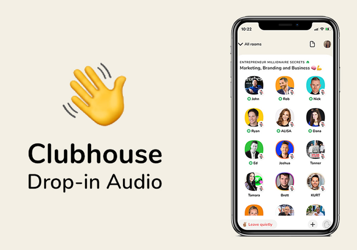 reseau audio clubhouse