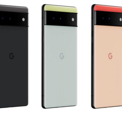 Pixel 6 - Google dévoile la date de lancement