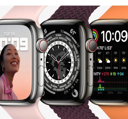 Apple Watch Series 8 - Un taille supplémentaire
