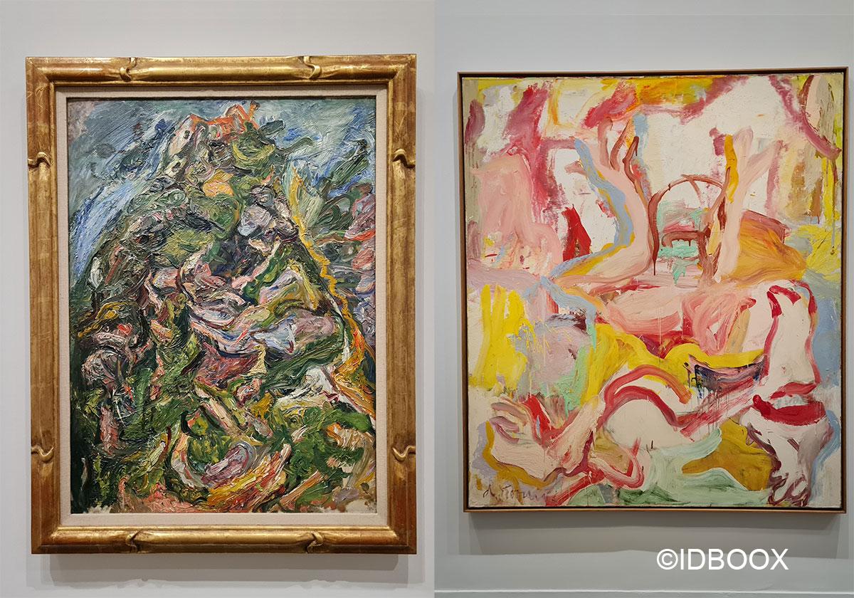 Expo Soutine De Kooning au Musée de l'Orangerie