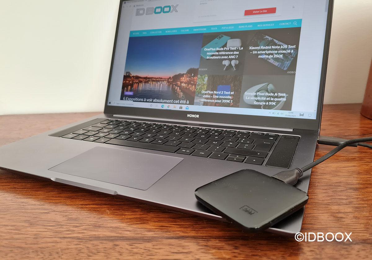 test SSD WD Elements SE