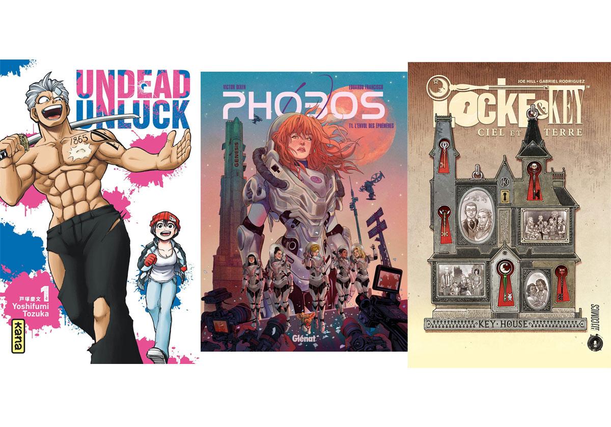 Conseils de lecture BD et Mangas pour bien finir le mois de septembre