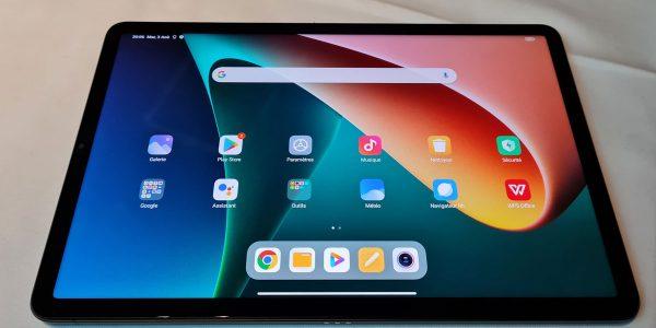 Xiaomi Pad 5 prise en main