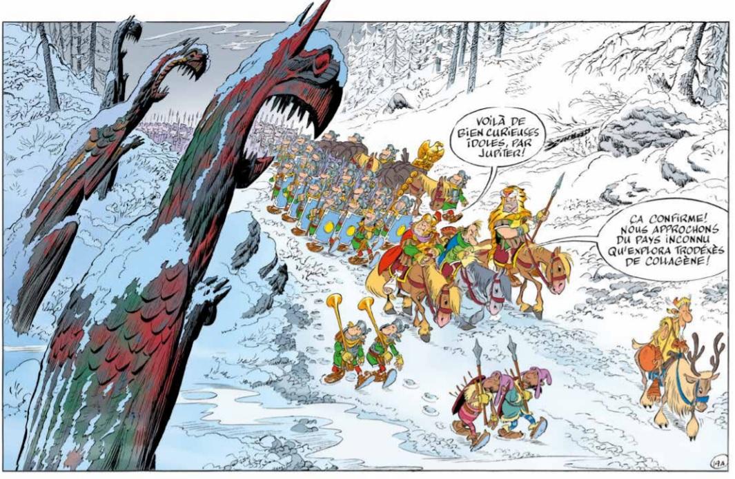 asterix et le griffon
