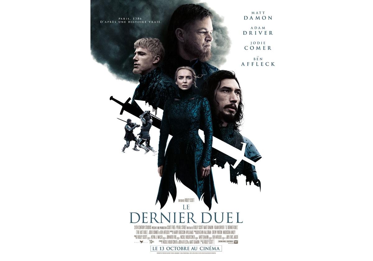 Cinéma Le Dernier Duel de Ridley Scott