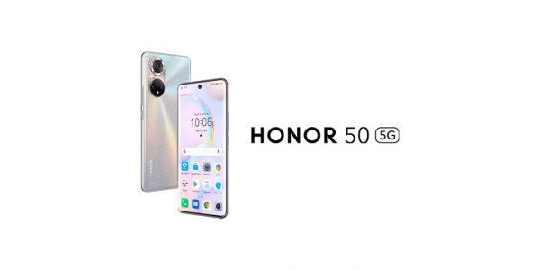 Le honor 50 et les services Google