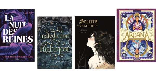 Notre sélectionde romans ado pour Halloween