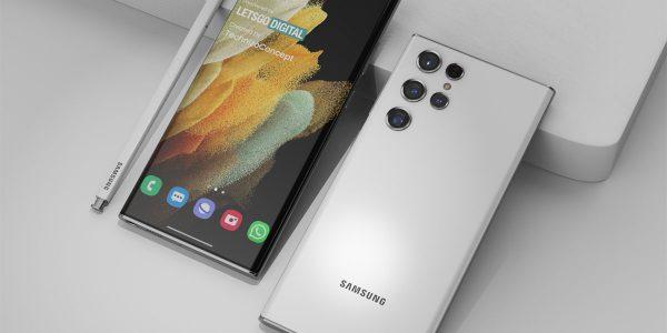 Samsung Galaxy S22 Ultra - Un module photo en forme de goutte d'eau