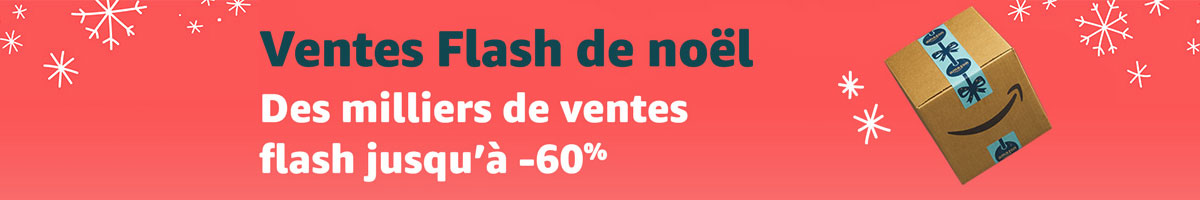 Amazon ventes flash Noël